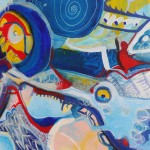 Particolare Pesce blù - 2013