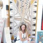 In visita in una Gallery di Darwin - 2013