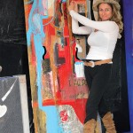 Nell'atelier dell' artista in Terranova F.C. (Bn) - 2014