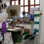 Particolare dello studio in Terranova Benevento